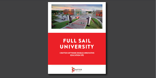 Full Sail University: Crafter Software Enables Innovative Education