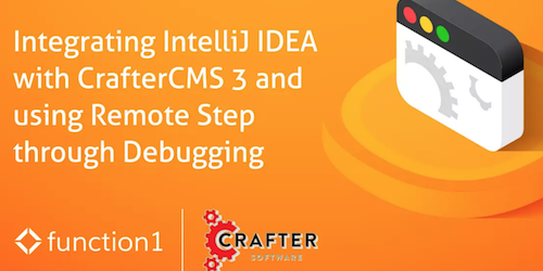 Integrating IntelliJ IDEA with Crafter CMS and using Remote Step-through Debugging